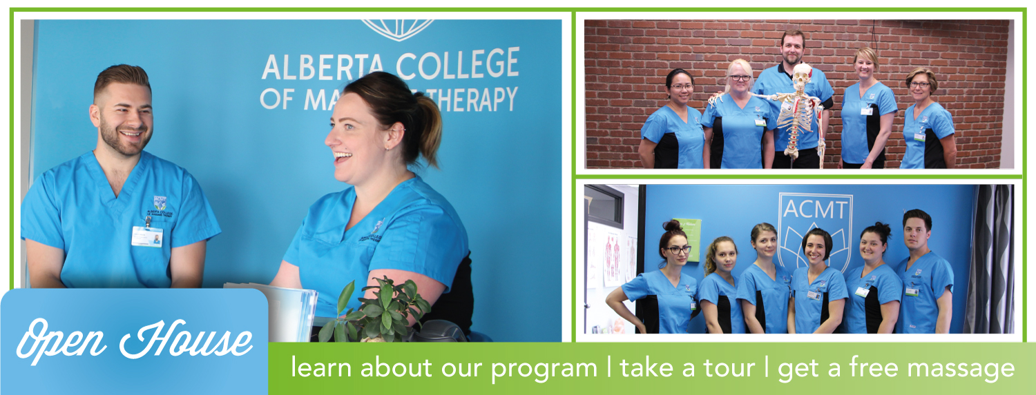 Learn about our program, take a tour, get a free massage